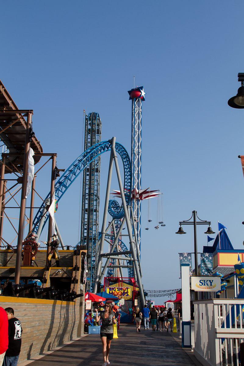 Pleasure Pier Galveston Island (1 of 1)