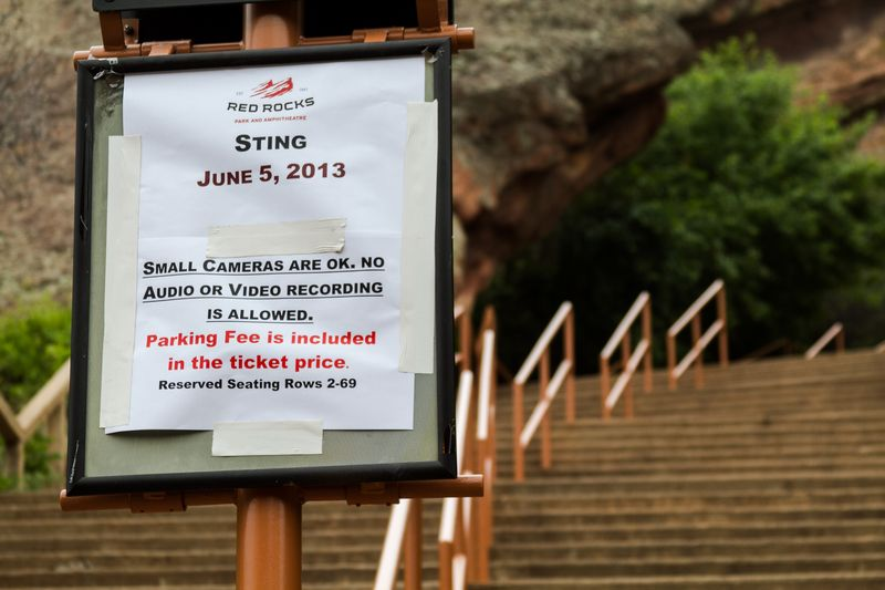 Sting Live at Red Rocks in Morrison Colorado-5125