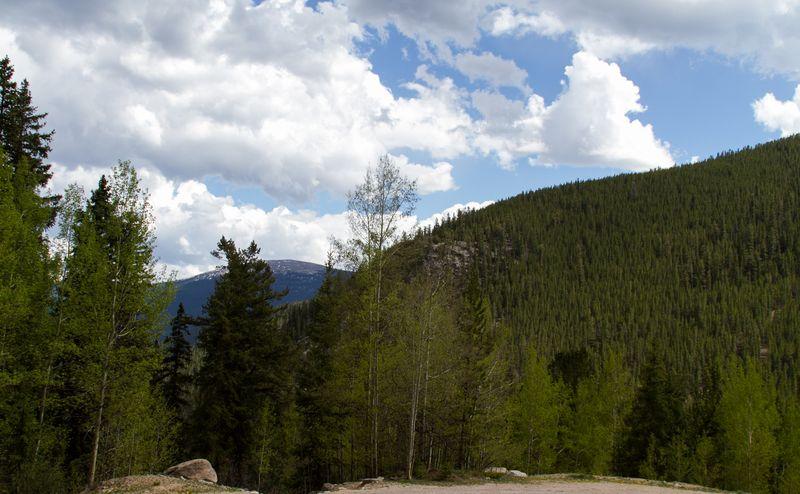Guanella Pass mountain view-5462