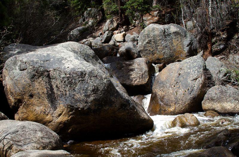 Guanella Pass mountain stream -5479