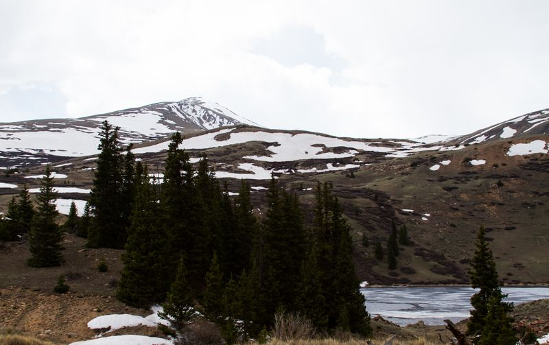 Guanella Pass mountain and lake-5603