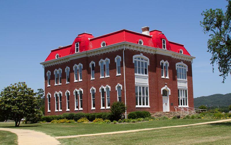 Choctaw Council House Tuskahoma 2-6042