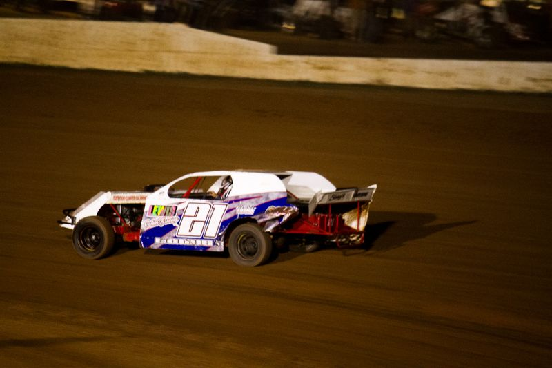 Racing at the Lawton Speedway-6649