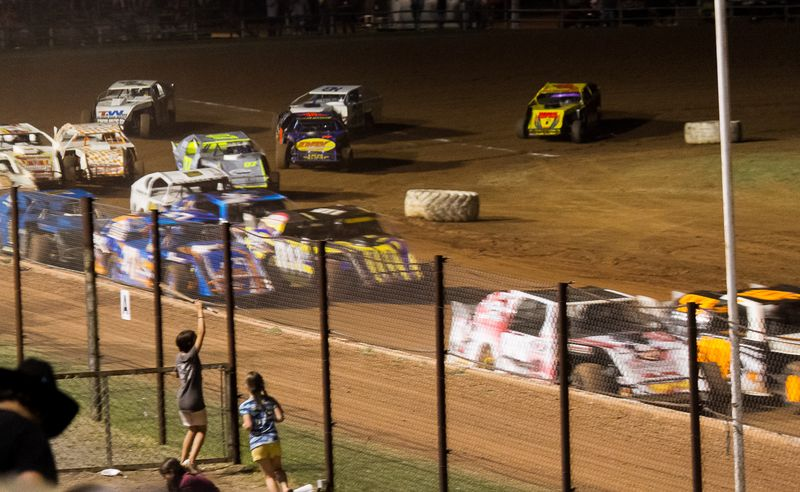 Racing at the Lawton Speedway-6707