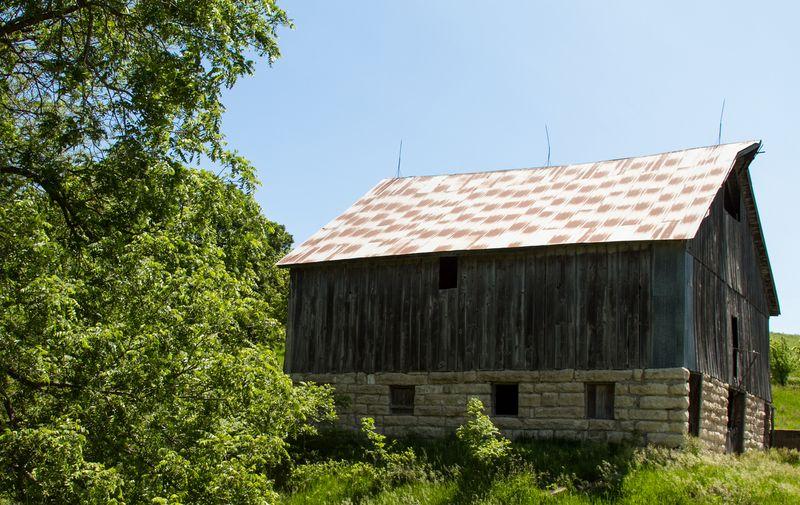 Old Barn near Manhattan KS-4409