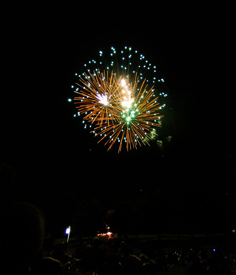 Fireworks at Marlow Oklahoma by Joy Franklin Photography-7975