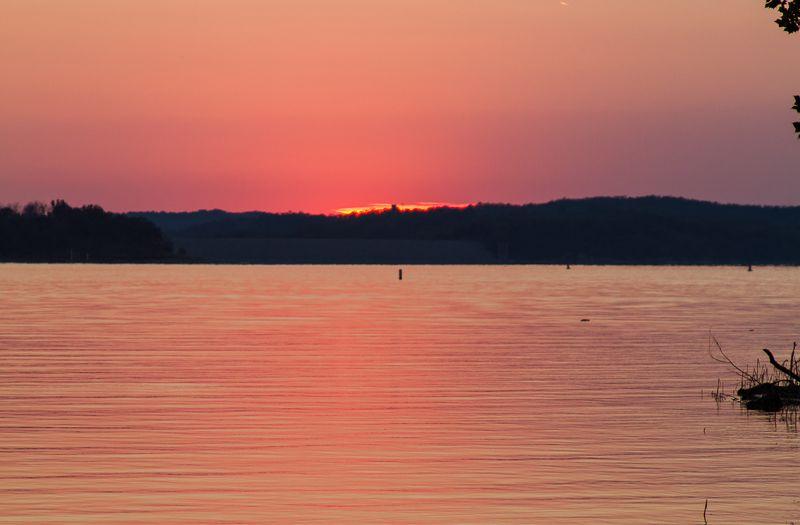 Sunset near Sulphur -1176