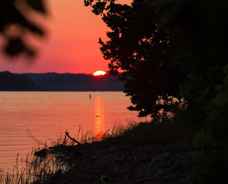Sunset at the Lake of the Arbuckles-1167