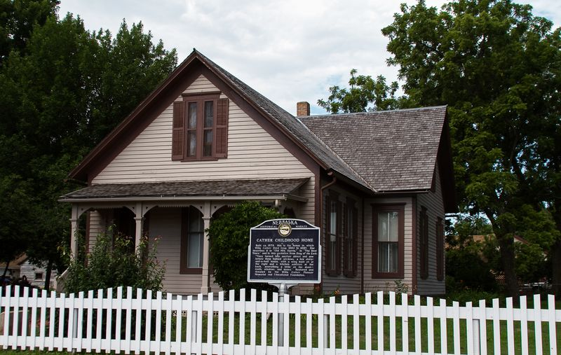 Willa Cather's Childhood Home in Red Cloud Nebraska-0156