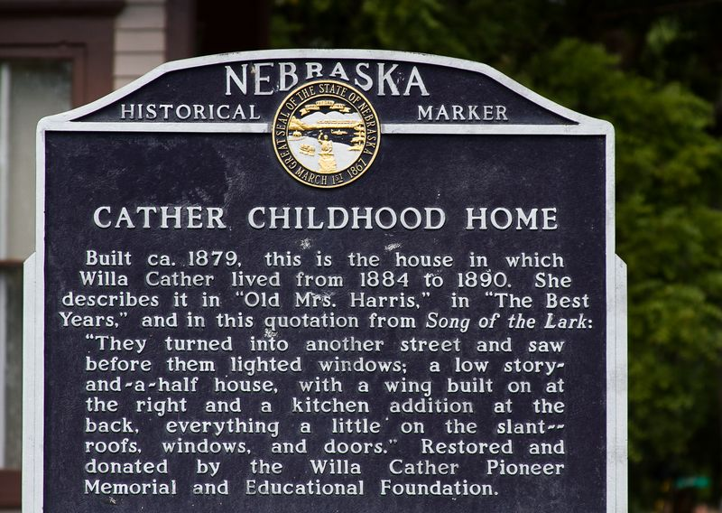 Willa Cather's Childhood Home in Red Cloud Nebraska-0161