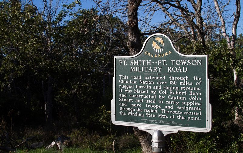 Ft. Smith -Ft. Towson Military Road-1642