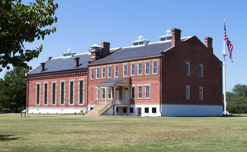 Historic Fort Smith Arkansas-1883