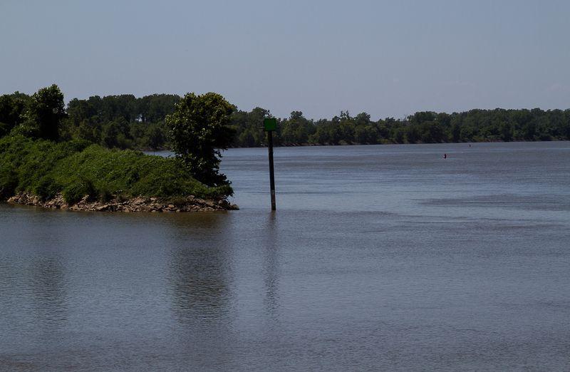 Arkansas River in Ft. Smith-1935