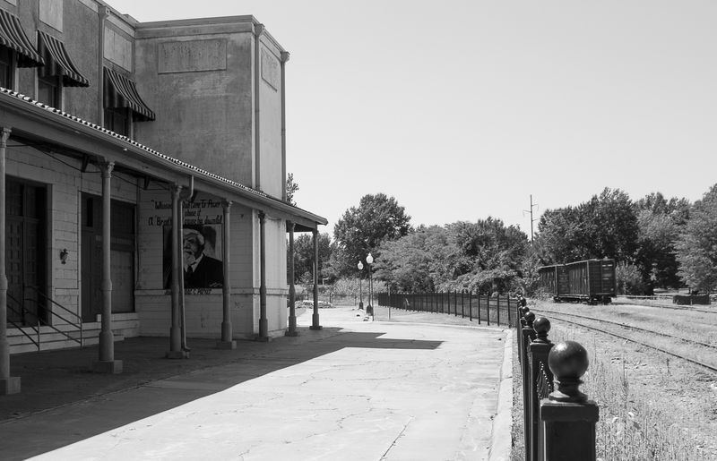 Old Depot at Fort Smith-1873