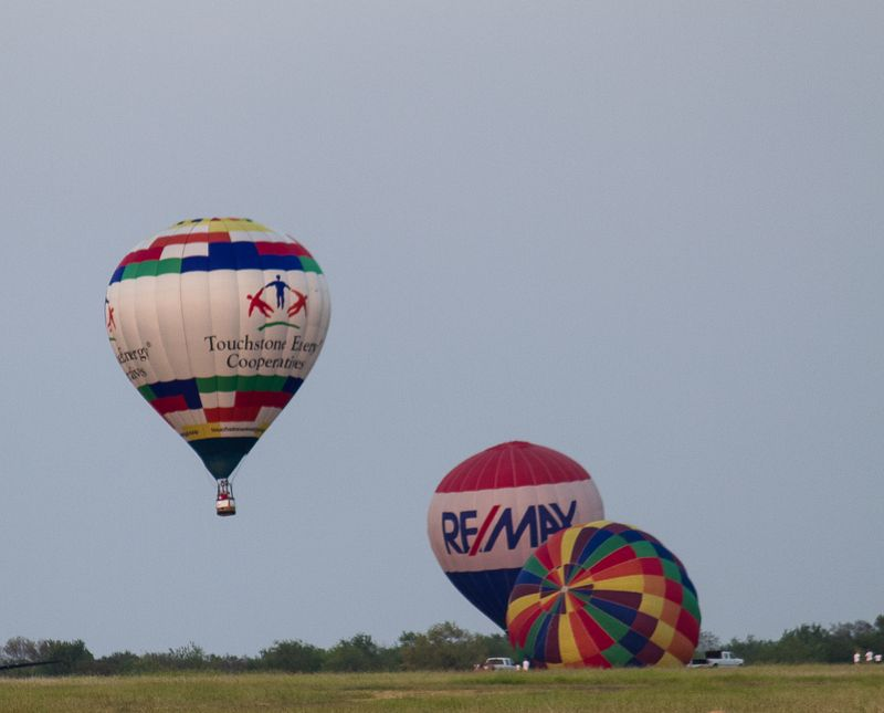 Hot Air balloon Festival in Gainesville Texas-2545