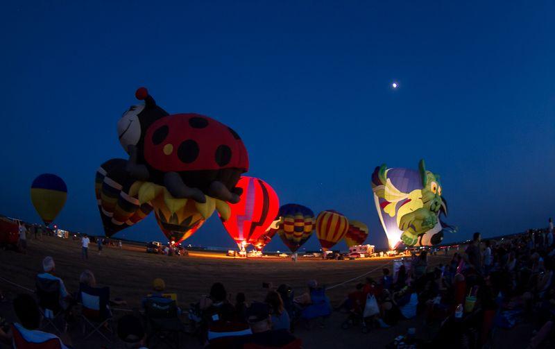 Hot Air balloon Festival in Gainesville Texas-2779