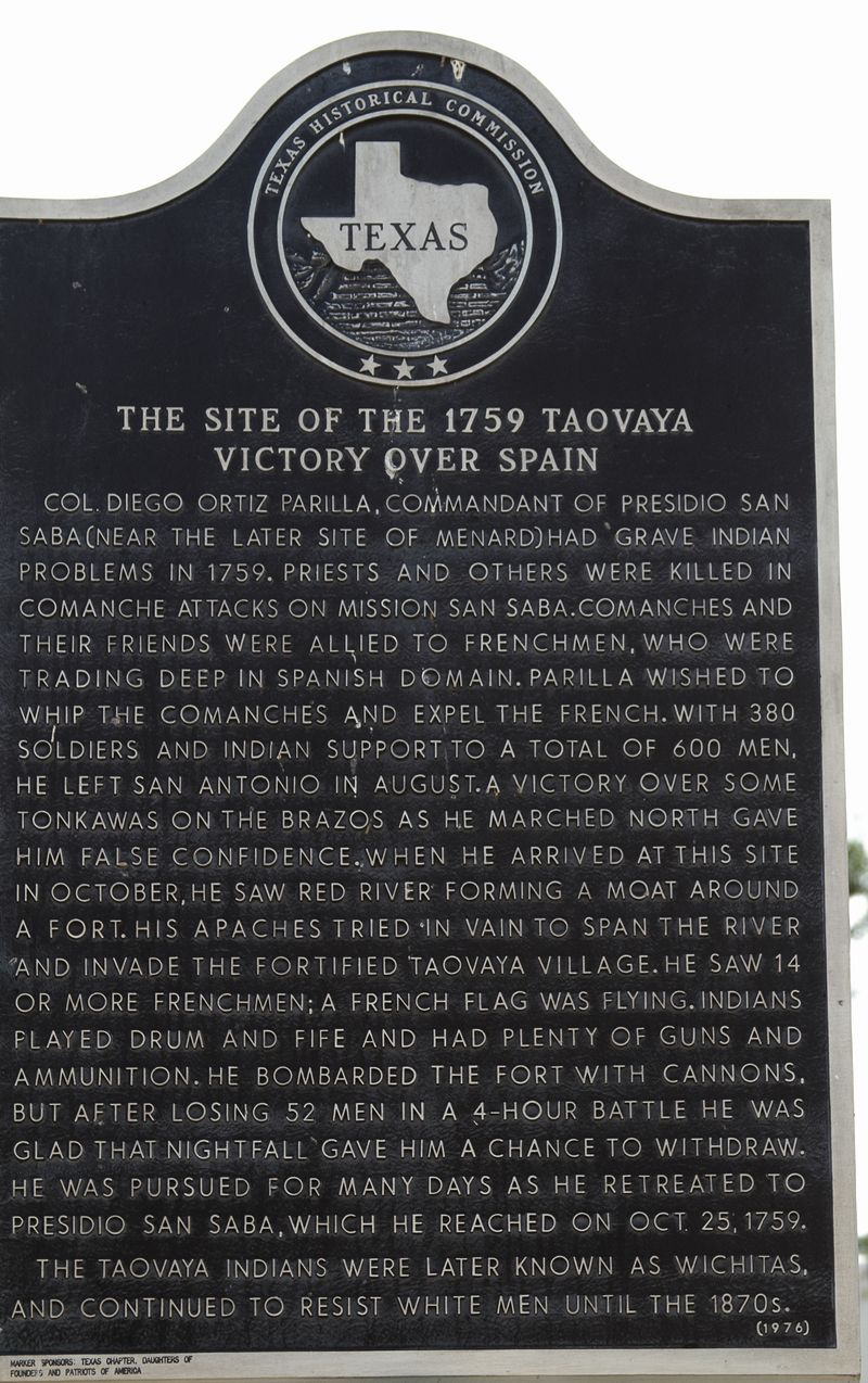 1759 Taovaya victory over Spain at Spanish Fort-2188