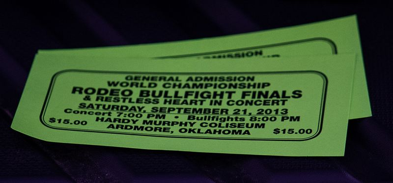 Rodeo Bullfight Finals Ardmore Oklahoma September 21st 2013-3820