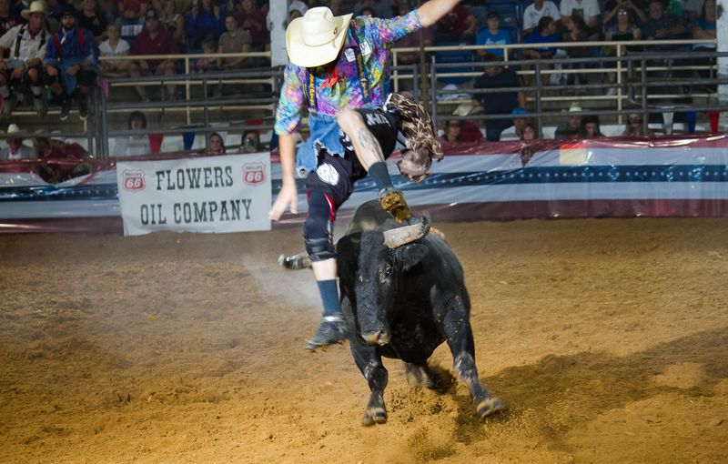 Rodeo Bullfight Finals Ardmore Oklahoma September 21st 2013-4033