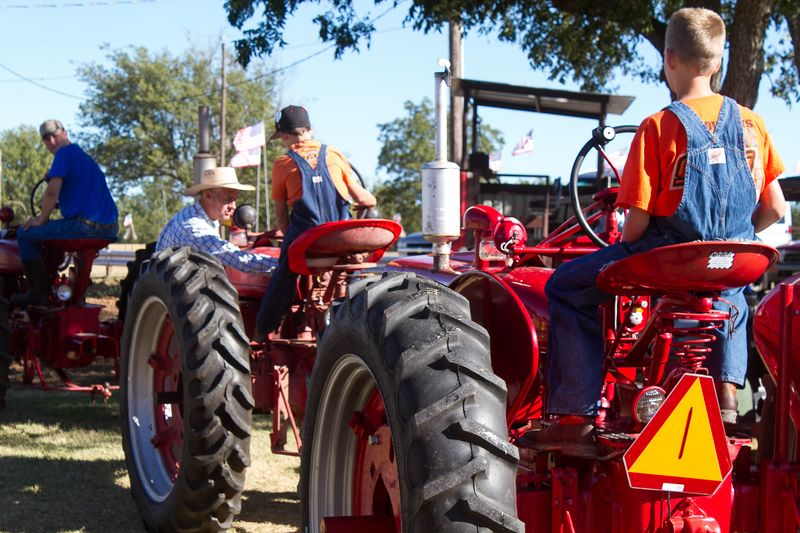 Murray County Antique Tractor Show 2013-3658