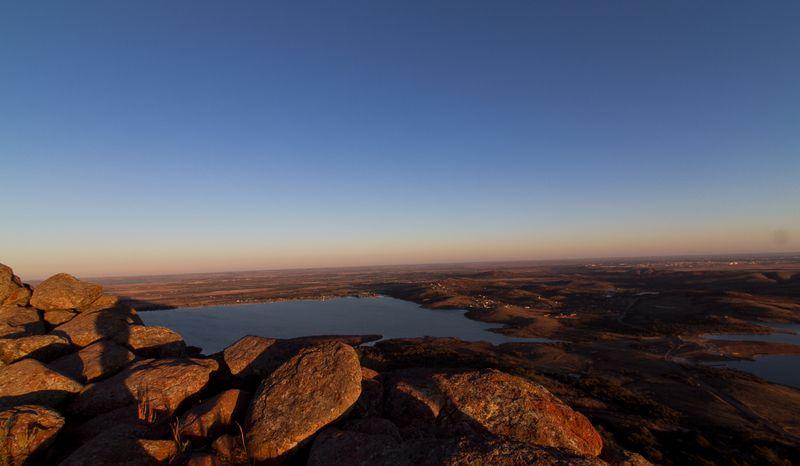 On top of Mount Scott near Lawton OK-6264