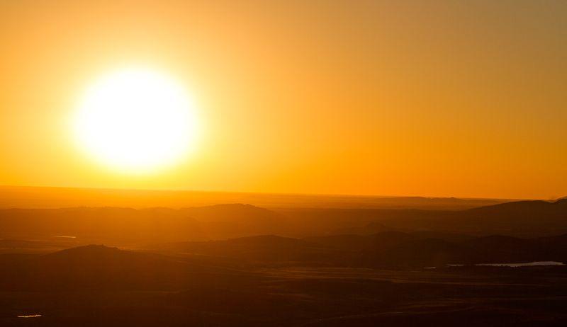 Sunset on Mount Scott-6325