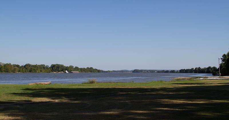 Webbers Falls on the Arkansas River-2093