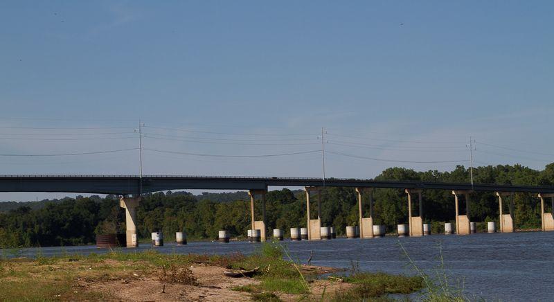 Webbers Falls on the Arkansas River-2102