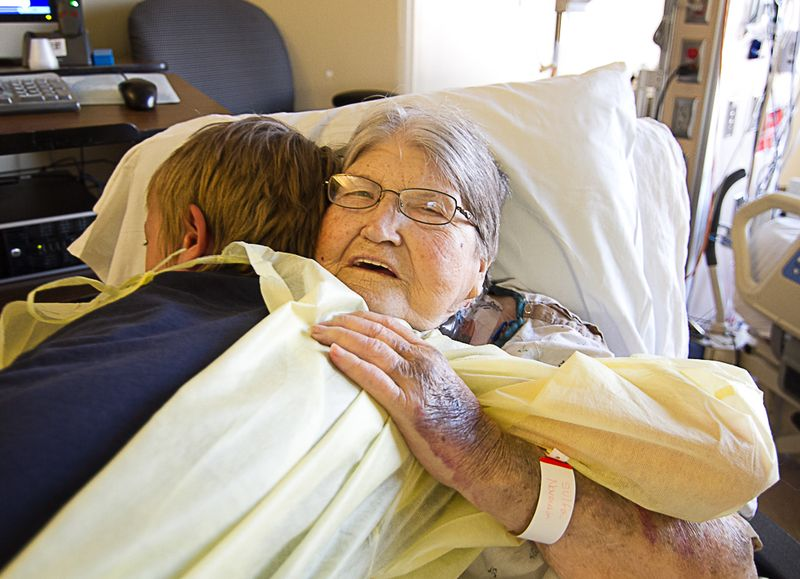Grandma and Justin-6647