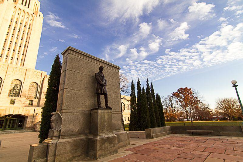 Lincoln Statue in Lincoln-6709