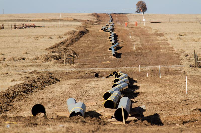 Pipeline in Rural Stephens County Oklahoma-7062
