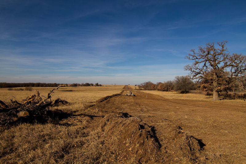Pipeline in Rural Stephens County Oklahoma-7054
