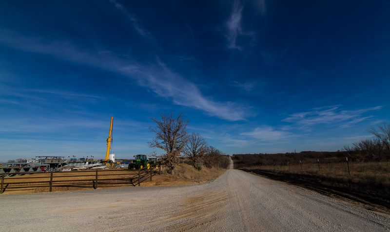 Marathon Oil in Rural Stephens County Oklahoma-7129