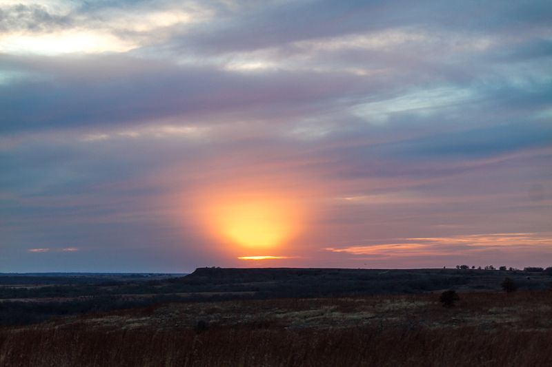 Sunset in Oklahoma-8171