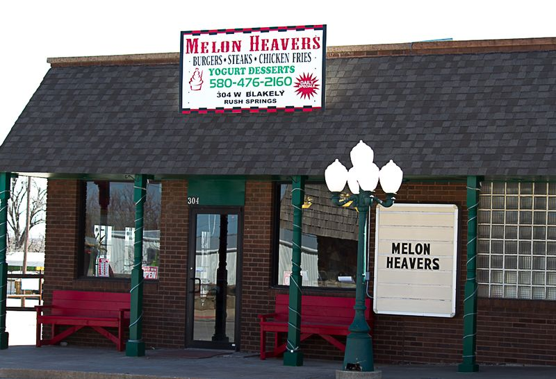 Melon Heavers Cafe in Rush Springs-9347