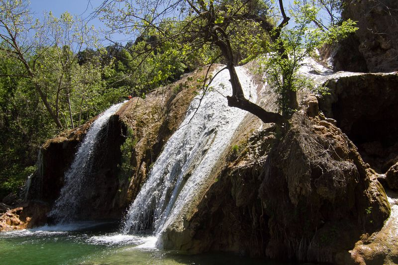 Turner Falls in the Arbuckle Mountains Davis Oklahoma -3977