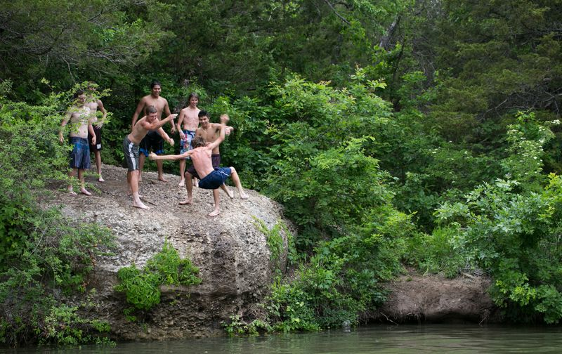 5-23-14 Kids at Chickasaw National Recreation Area-1324