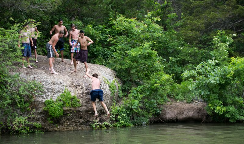 5-23-14 Kids at Chickasaw National Recreation Area-1325