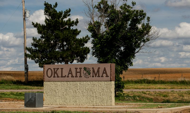 Oklahoma border near Buffalo -5820