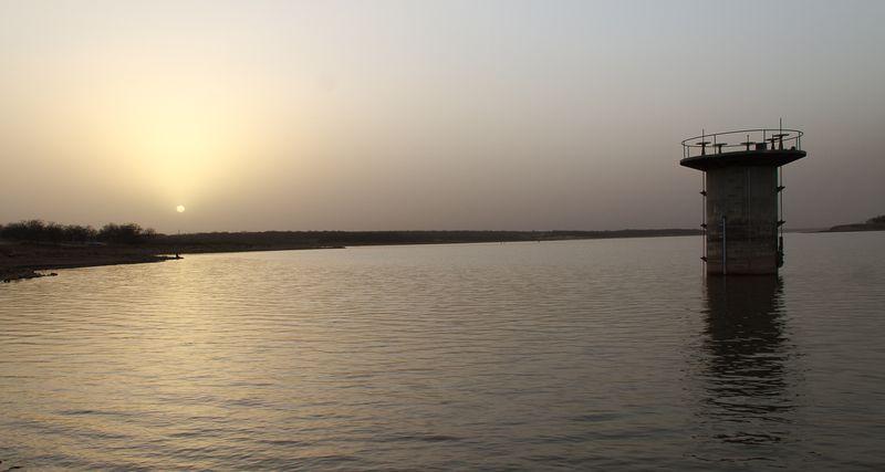 Hazy March Evening at Lake Fuqua-0480