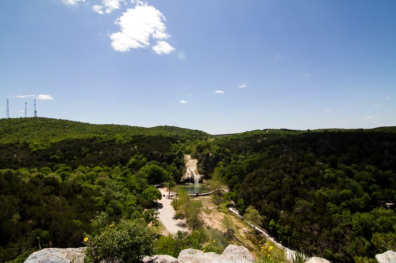 Turner Falls in the Arbuckle Mountains Davis Oklahoma -3881