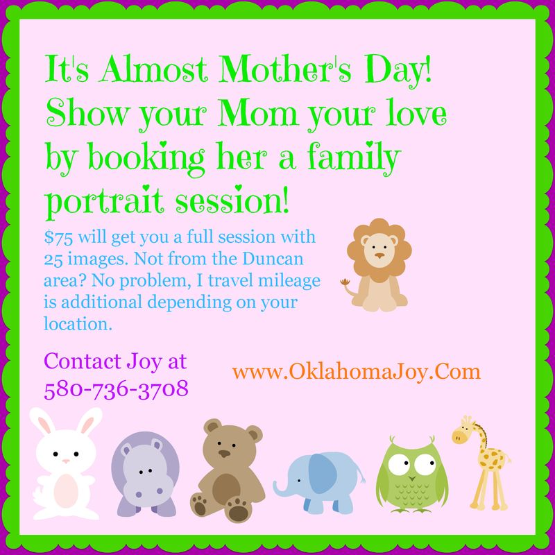 Mothers Day Promotional