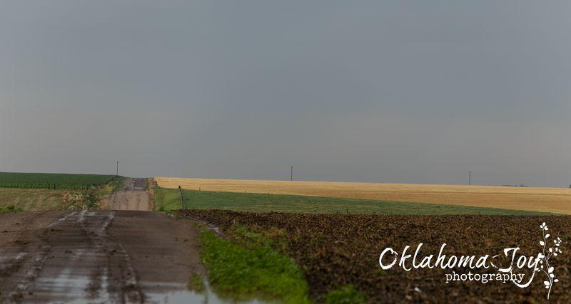 Between Grainfield and Hoxie Kansas -5751