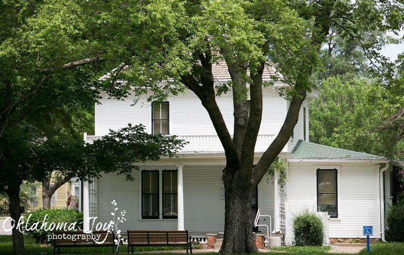 20140602-IMG_1885Joy FranklinEisenhower's Boyhood Home in Abilene Kansas