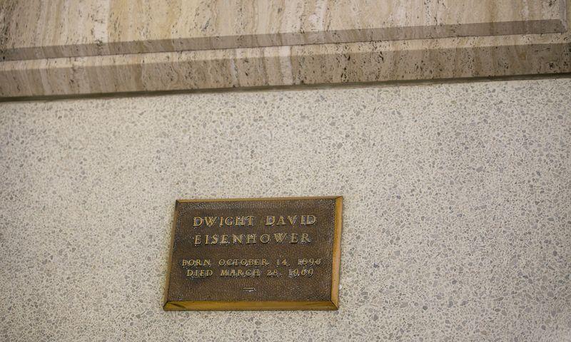 20140602-IMG_1952Joy FranklinEisenhower's Grave Abilene Kansas