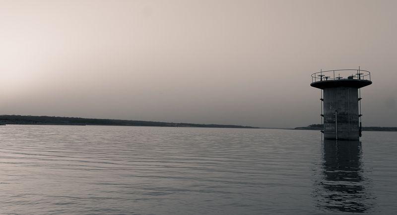 Hazy March Evening at Lake Fuqua-0506