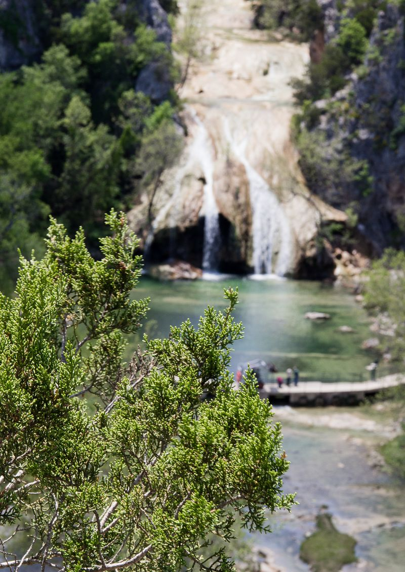 Turner Falls in the Arbuckle Mountains Davis Oklahoma -8299