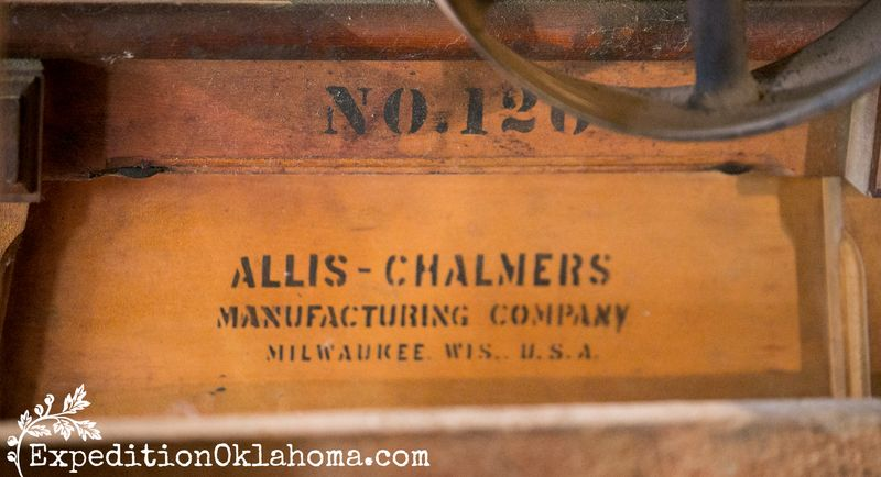 Neligh Mills Nebraska Historic Site Allis Chalmers Mill equipment-2318