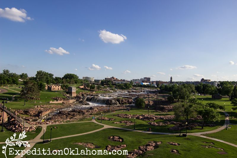 Falls Park at Sioux Falls South Dakota-8986