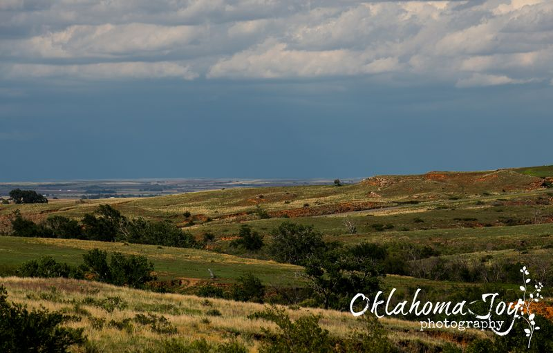 Oklahoma border near Buffalo -5832